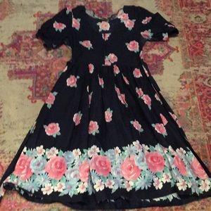 Vintage Dresses - Vintage Rose Dress